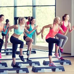 Gym cardio et stretching